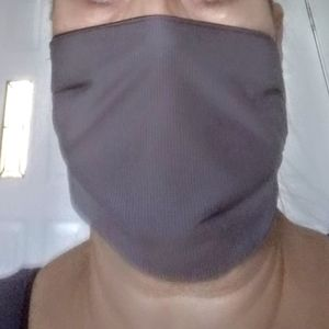Reusable face mask 2 ply  new reversible